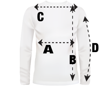 Mens Long Sleeve Shirt Size Guide