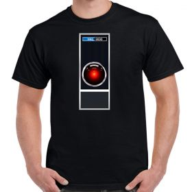 2001 HAL 9000 Interface Adult T-Shirt