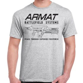 Armat Systems M41A Pulse Rifle Adult T-Shirt