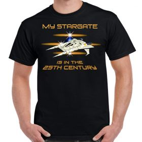 Buck Rogers 25th Century Stargate Adult T-Shirt
