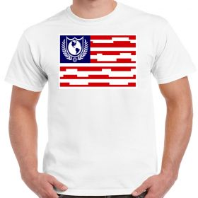 Buck Rogers Earth Defense Directorate Flag Shirt