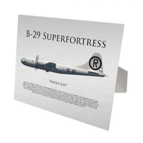B-29 Superfortress Enola Gay Aluminum Print
