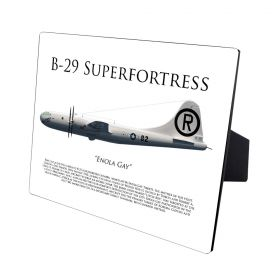 B-29 Superfortress Enola Gay Hardwood Print