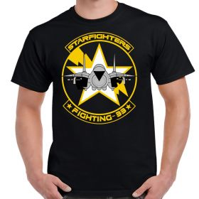 VF-33 Starfighters Patch Logo Shirt