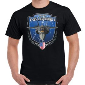 F-35 Lightning II In Flight Men's Shirt