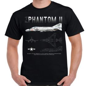 F-4 Phantom Schematic Men's T-Shirt