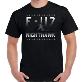 F-117 Nighthawk Front Stars Men's T-Shirt