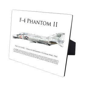 F-4 Phantom II Hardboard Photo Print