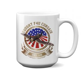 F4U Corsair Stars and Stripes 15oz Mug