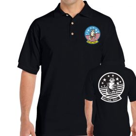 F-14 Tomcat Felix Anytime Baby Double Sided Polo