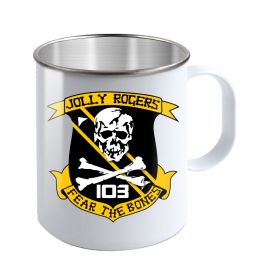 Jolly Rogers VF-103 Fear The Bones Camp Mug