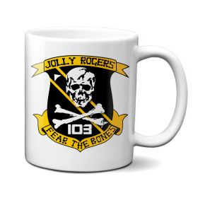 Jolly Rogers VF-103 Fear The Bones Mug