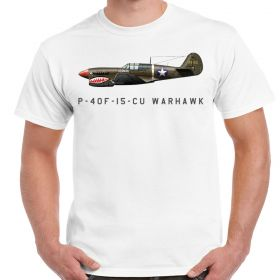 P-40F Curtiss Warhawk White Shirt