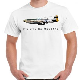 P-51D Mustang Dallas Doll White Shirt