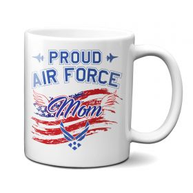 Proud Air Force Mom 11oz Mug