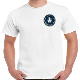 Space Force Chest Logo Polyester Shirt