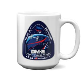 NASA SpaceX DM-2 First Crewed Flight Mug