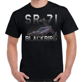 SR-71 Blackbird Mens Black T-Shirt