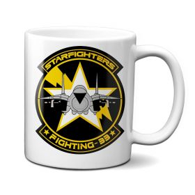 VF-33 Starfighters Patch Mug