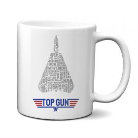 Top Gun F-14 Call Signs 11oz Mug