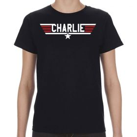 Top Gun Charlie Logo Women's T-Shirt