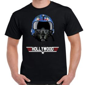 Top Gun Hollywood Helmet T-Shirt