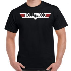 Top Gun Hollywood Logo T-Shirt
