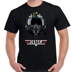 Top Gun Jester Helmet T-Shirt