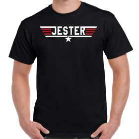 Top Gun Jester Logo T-Shirt