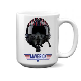 Top Gun Maverick Helmet 15oz Mug