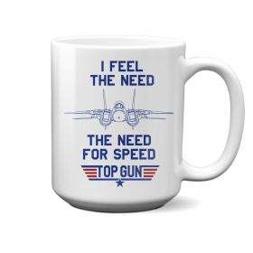 Top Gun I Feel The Need The Need 15oz Mug