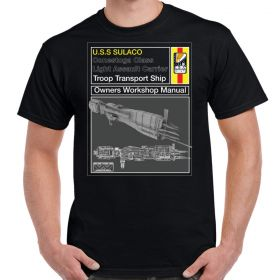 USS Sulaco Workshop Manual T-Shirt