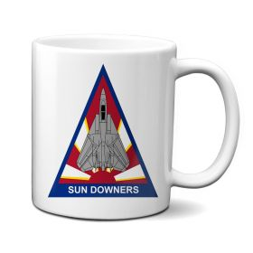 VF-111 Sundowners Triangle Patch Mug