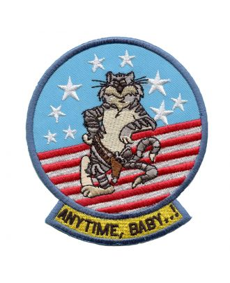 Tomcat Anytime Baby 3 Inch Sew On Patch