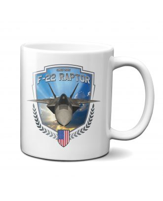 F-22 Raptor In Flight 11oz Mug