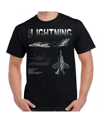 F-35 Lightning II Schematic Shirt