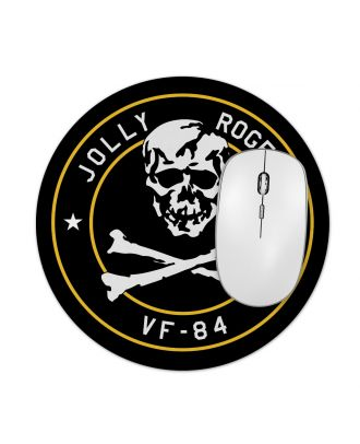 "Jolly Rogers VF-84 7.5"" Round Mousepad"