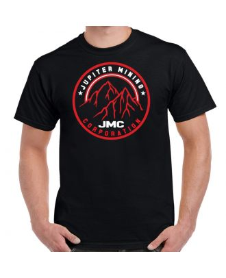 Red Dwarf Jupiter Mining Corp Logo Adult T-Shirt