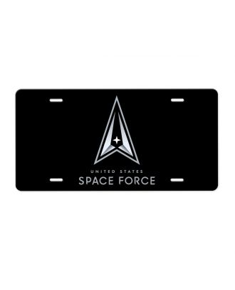 Space Force New Logo Aluminum License Plate