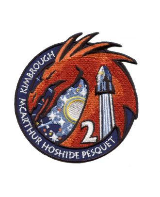 SpaceX Crew-2 Mission Crew-1 Patch