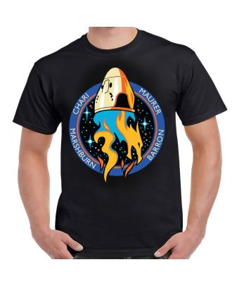 SpaceX Crew-3 Mission Logo Adult T-Shirt