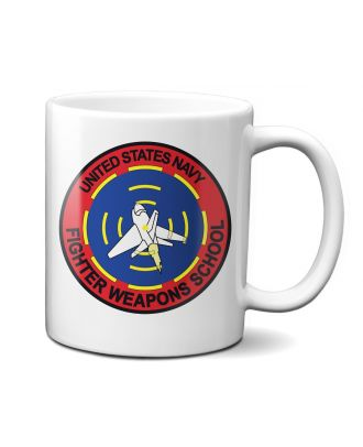 Top Gun Fighter Weapons School Mug It began as the United States Navy Fighter Weapons School, established on 3 March 1969, at the former Naval Air Station Miramar in San Diego, California.In 1996, the school was merged into the Naval Strike and Air Warfa