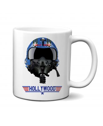 Top Gun Hollywood Helmet Mug
