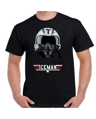 Top Gun Iceman Helmet Shirt