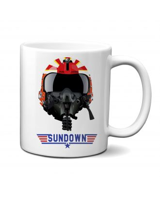 Top Gun Sundown Helmet Mug