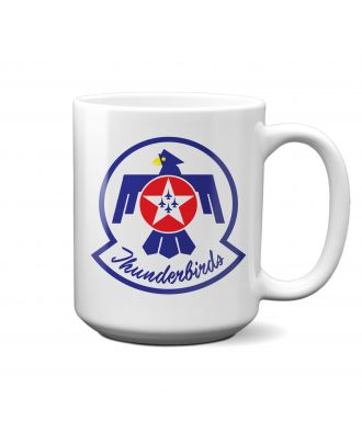 USAF Thunderbirds Logo 15oz Mug