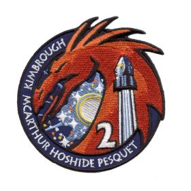 NASA SPACEX DM-2 Mission Flight Patch
