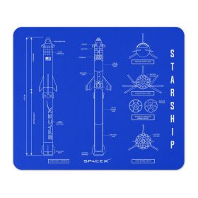 SpaceX Crew-2 Mission Patch Mousepad