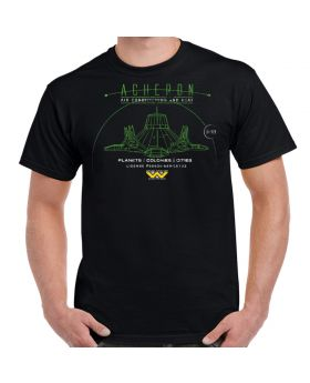 Acheron LV-426 Air Conditioning and Heat Adult T-Shirt
