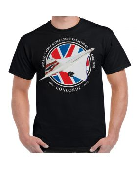 Concorde - World's First Supersonic Passenger Jet T-Shirt